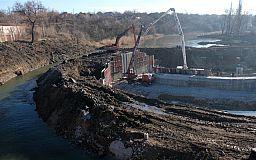 У Кривому Розі завершуються роботи зі створення бетонного шлюзу для ліквідації підтоплень