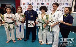 Криворожские каратисты завоевали золото на международном турнире