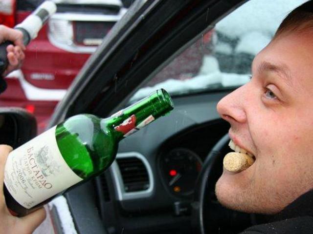 На сколько забирают права за алкоголь