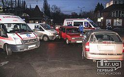 ДТП на ул.Косиора образовало пробку