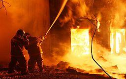 В Кривом Роге за день произошло два крупных пожара
