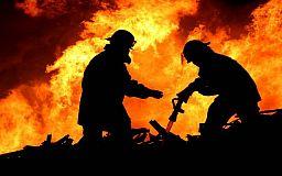 Во время ликвидации пожара в жилом доме Криворожского района обнаружены тела двух погибших инвалидов