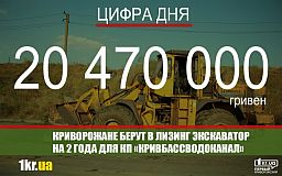 Хозяйственная экономия: КП «Кривбассводоканал» за 20 млн покупает экскаватор