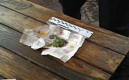 Подозреваемый в ограблении задержан с «зеленью»