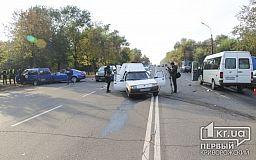 ДТП с пострадавшими в Кривом Роге. На Пионере столкнулись 5 автомобилей (ОБНОВЛЕНО)