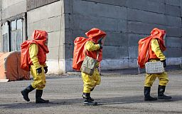 На Центральном ГОКе прошла тренировка спасательных отрядов