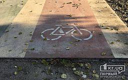 «Велодорожки в парке - опасны!» - велосипедистка Кривого Рога