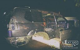 В Кривом Роге задержали «Газель» перевозившую «Land Cruiser» с перебитыми номерами