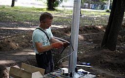 На улицах Кривого Рога установят более 900 новых светильников