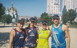 Волейболистки из Кривого Рога участвовали в международном турнире в столице