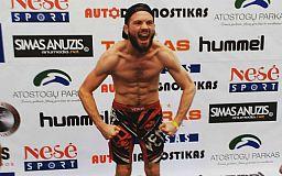 Криворожанин победил в Литовских «боях без правил»
