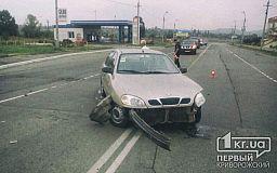ДТП в Кривом Роге. В центре города столкнулись Skoda и Daewoo