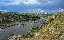 Удивительные пейзажи криворожских скал МОПРа