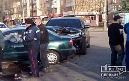 ДТП на пр.Мира. Lexus «протаранил» Daewoo, есть пострадавшие (ОБНОВЛЕНО)
