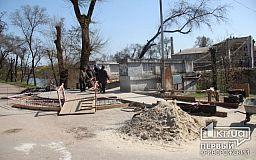 В Кривом Роге ремонтируют мосты через Ингулец и Саксагань