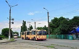 Сегодня в Кривом Роге будет приостановлено движение на нескольких троллейбусных маршрутах
