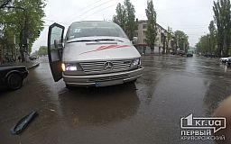 ДТП по пр.Гагарина. Маршрутка «протаранила» Audi