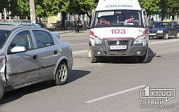 ДТП по пр.Гагарина. Скорая помощь с тяжело больным «протаранила» Opel