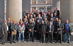 Криворожская полиция чествовала ликвидаторов последствий аварии на ЧАЭС