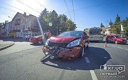 ДТП на 96 квартале: У «Hyundai» вывернуло колесо