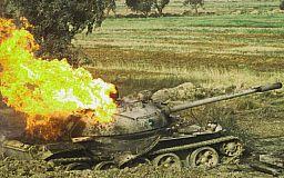 В Кривом Роге горел танк
