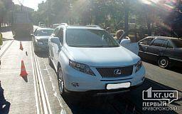 ДТП в Кривом Роге: Geely затормозил в Lexus