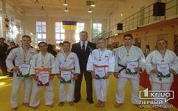 Криворожские дзюдоисты заняли призовые места на чемпионате области