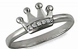 Кольцо-корона — подарок, который не оставит равнодушной ни одну женщину