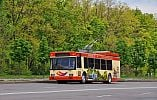 Криворожский дизельный троллейбус проходит обкатку
