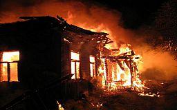 Во время пожара в жилом доме Кривого Рога погибли два человека
