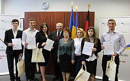 Криворізькі старшокласники отримали престижні мовні дипломи Німеччини