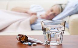 Эпидпорог по заболеваемости гриппом и ОРВИ в Кривом роге превышает норму более чем в два раза