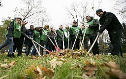 Горняки Кривбасса приняли участие в волонтерской акции «Чистый город»