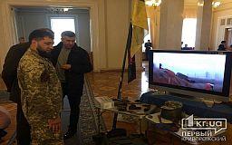 Выставка музея батальона «Кривбасс» в Верховной Раде Украины