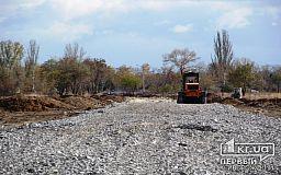 Между Центральным кладбищем и 2-м Восточным строят новую дорогу