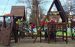 У Криворожской вальдорфской школы появился собственный спортивно-игровой комплекс
