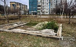 Незаконная постройка возле станции метро в Кривом Роге демонтирована
