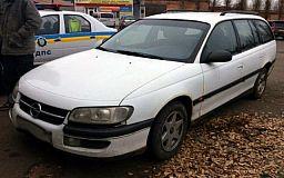 Криворожские полицейские задержали мужчину на незарегистрированном авто