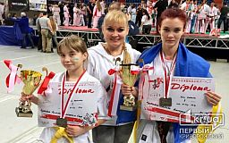 Спортсменки из Кривого Рога завоевали серебро на чемпионате Европы