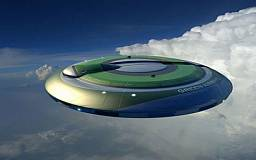 Криворожанин изобрел летающую тарелку