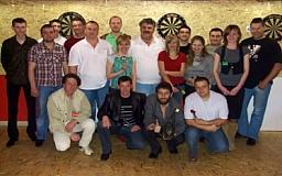 В Кривом Роге состоялся турнир по дартсу «Стрелы Одиссея»
