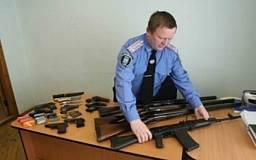 В милицию принесли 277 единиц огнестрельного оружия