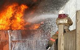 В Кривом Роге горели киоски рынка «Центральный»