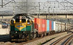 За март Приднепровская железная дорога перевезла почти 10 миллионов тонн грузов
