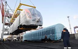 В Украину прибыла вторая партия корейских чудо-поездов «Hyundai»