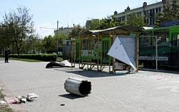Проспект Карла Маркса в Днепропетровске полностью перекрыт