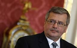 Президент Польши считает, что взрывы в Днепропетровске связаны с «Евро-2012»