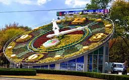 На реконструкцию цветочных часов выделили 2 миллиона гривен
