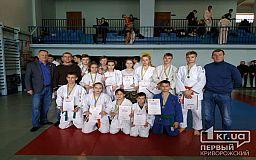 На выходных в Кривом Роге состоялся чемпионат города по дзюдо