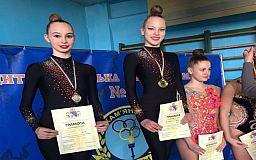 Криворожанки привезли медали с областного чемпионата по художественной гимнастике